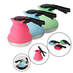 Portable Folding Silicone Kettle Picnic Electric