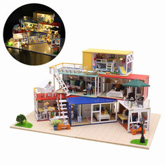 Doll House Amp Miniature Festival Decoration From Leading