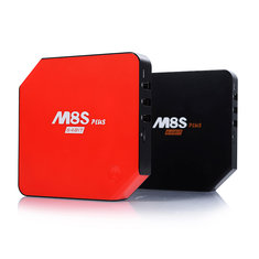 M8S Plus Android 5.1 Amlogic S905 Quad Core 2GB/16GB 2.4GHz/5GHz WiFi BT 4.0 TV Box Android Mini PC