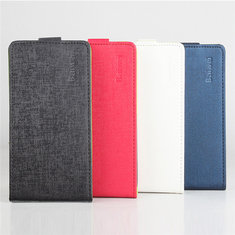 Up-down Flip Dual Colors Synthetic Leather Case For Samsung Galaxy J7 J700