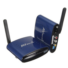 PAT-630 5.8GHz AV STB TV IR Remote Control Wireless Transmitter Receiver Sender Extender