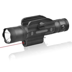 Micolite MGL-018 5mW/650nm Red Laser Sight Hang Type Rail Mount Locator with 600LM LED Work Lights