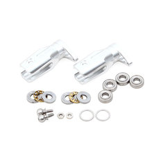ALZRC Devil 505 FAST RC Helicopter Parts Metal Tail Rotor Holder Silver