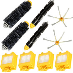 10Pcs Filters Brush Pack Big Kit