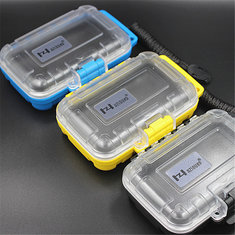 HZSOUND Waterproof Earphone Case Box Protective Case Portable Storage Bag Headset Box