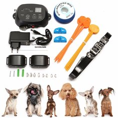 KD660 Waterproof Rechargeable Pet Dog Electronic Fencing System Shock Collars