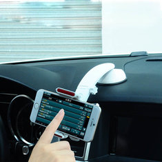3in1 Car Windshield Dashboard Air Vent Mount Holder For iPhone