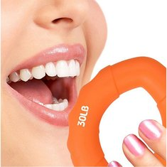 Rehabilitation Training Strength Finger Hands Silicone Fitness Exercise Grip Ring