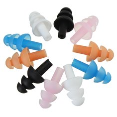 Silicone Swimming Ear Plugs Waterproof Diving