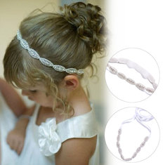 Children Baby Kids Infant Princess Flower Girls Photography Party Art Rhinestone Hairband Headwear Accessories