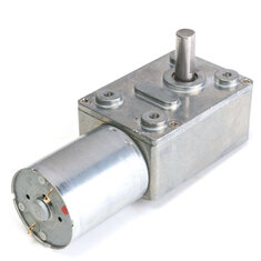 GW370 12V 3RPM DC Motor Reversible High Torque Turbo Worm Gear Motor