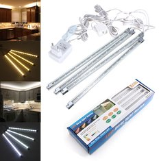 LED Rigid Strip Light Kitchen Under Cabinet Counter Pure White/Warm White Light Kit AC 110-240V