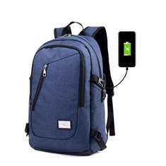 Outdoor Waterproof Laptop Backpack Bag Travel Bag With External USB Charging Bag
