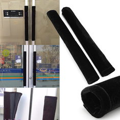 2PCS Refrigerator Handle Covers Black Handle Protection Home Used Tools
