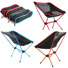 IPRee® Outdoor Portable Folding Chair Camping Hiking Picnic BBQ Stool