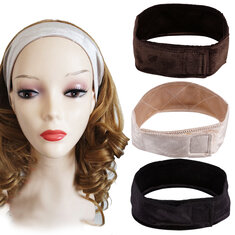 Wig Grip Scarf Head Hair Band Headbrand Adjustable Fastern Wig Flexible Velvet