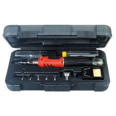 HS-1115K 10 in 1 Soldering Iron Cordless Welding Torch Tool Kit