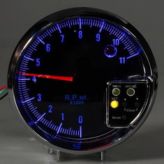 Tachometer Shift Light Alarm Lamp 8142s Blue LED Lens