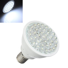 E14 1.5W Pure White 38 LED Energy Saving Spot Light Lamp Bulb 110-240V