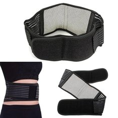 Magnetic Protection Waist Belt Strap Back Support