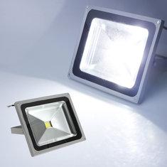 50W 4000LM Pure White LED Flood Wash Light Lamp Waterproof 85-265V