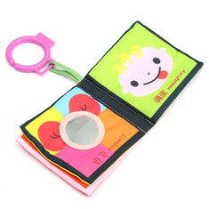 Baby Kid Child Intelligence Development Learn Cognize Cloth Book Educational Toy