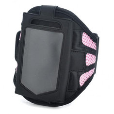 Black And Pink Fashion Sport Armband For iPhone 3G 4