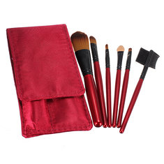 6 Pcs Professional Cosmetic Makeup Brushes Set Kit