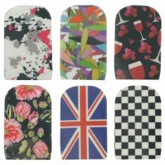 14pcs Stylish Design Nail Art Foil Wrap Sticker Patch Decoration