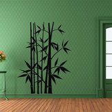 Removable Bamboo Wall Stickers Home Decor Art Decoration Mural Decal Black