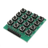 10Pcs 4x4 16-Key Matrix Keypad Keyboard Module 16 Buttons For Arduino