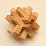 Funny Chinese Traditional Wooden Educational Toys Puzzle Lock