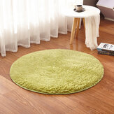 Original KCASA KC-MP1 60cm Non-Slip Bedroom Floor Mat Fluffy Soft Plush Rug Pure Colour Dining Room Carpet