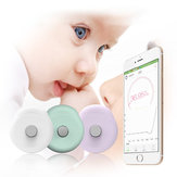 Original Loskii DS01 Intelligent Baby Wearable Thermometer Temperature Sensor Fever Monitor Bluetooth 4.0 Smart Baby Monitor