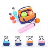 Original Portable Waterproof Oxford Insulation Lunchbox Bag Cooler Picnic Bag Travel Supplies