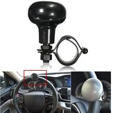 Car Heavy Duty Steel Ring Wheel Spinner Handle Knob With Rubber Mat