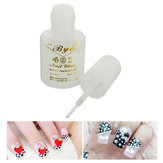 Nail Art Glue Beads Tips Acrylic Rhinestones Design DIY Long Lasting Practical 401 Brush 10g