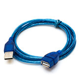 US01 USB Extension Cable 2.0 Male to Female Data Cable 1m 1.5m 2m 3m Pure Copper Tape Shield Cable