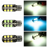 T10 W5W 501 LED Side License Plate Interior Light Wedge Bulbs Canbus Error Free