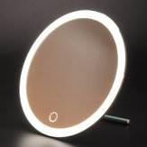 USB LED Light Makeup Mirror With Mini Magnifying Mirror
