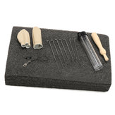 Original Needle Felting Foam Starter Kit Wool Felt Tools Mat + Needles + Craft Accessories Set