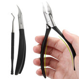 Y.F.M® Ingrown Toenails Nipper Clipper Paronychia Care Precision Cutter Thick Stainless Steel