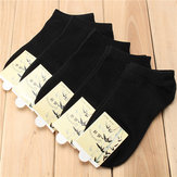 Cotton Low Cut Ankle Socks Bamboo Fiber Casual Soft Stockings(Pack of 5)