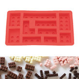 KCASA KC-ON021 Silicone Bricks Ice Cube Tray Building Bricks Chocolate Candy Soap Mold Kids Toy Set