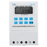 220V 25A LCD Digital Micro Computer Programmable Time Clock Timer Switch Relay