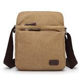 Original Canvas Men Shoulder Bag Student Crossbody Bag Summer Messenger