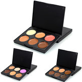 6 Colors Facial Concealer Palette Dark Shadow Beauty Cosmetic Makeup Face