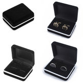 Original Velvet Earring Ring Cufflink Cuff Links Jewelry Packing Box