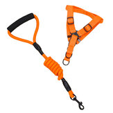 Yani HP-PC1 Pet Nylon Chest Back Traction Suits Rope Dog Adjustable Climbing Rope Supplies