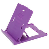 Plastic Adjustable Folding Stand Holder For Tablet Purple